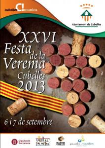 Cartell Festa Verema 2013