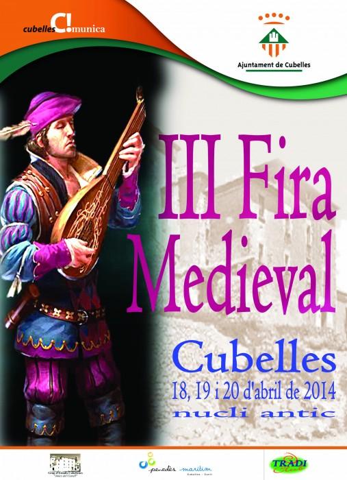 Cartell III Fira Medieval