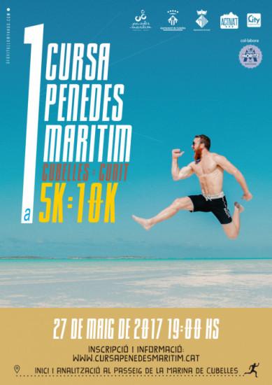 Cartell 1a cursa Penedès Marítim Moritz