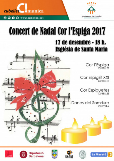 Cartell concert Nadal