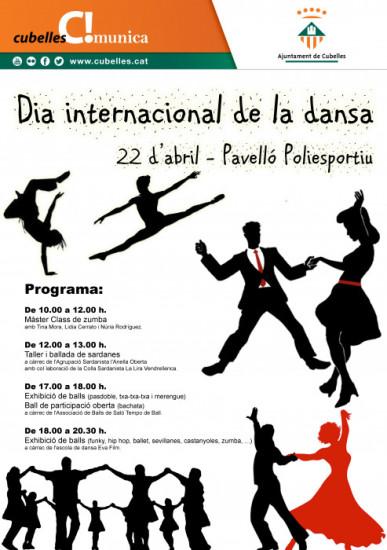 Cartell Dia dansa 2017