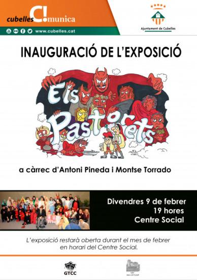 Cartell de la inauguració de l'exposició