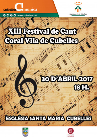 Cartell Festival cant coral 2017