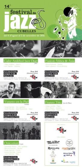 Cartell Festival de Jazz