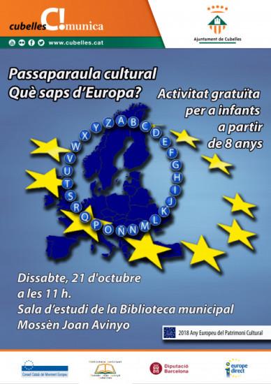 Passaparaula europa infantil