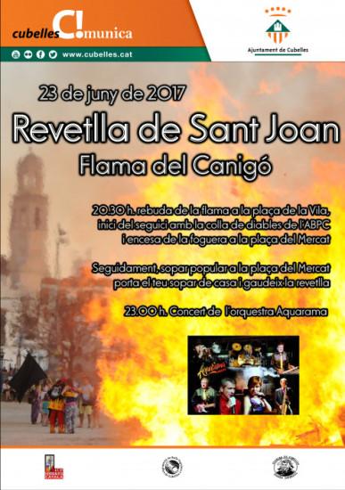 Cartell revetlla Sant Joan 2017