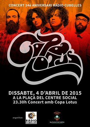 Cartell Copa Lotus 4 d'abril