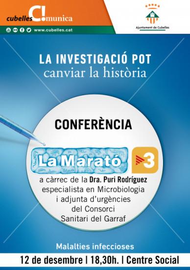 Cartell Marató TV3 2017