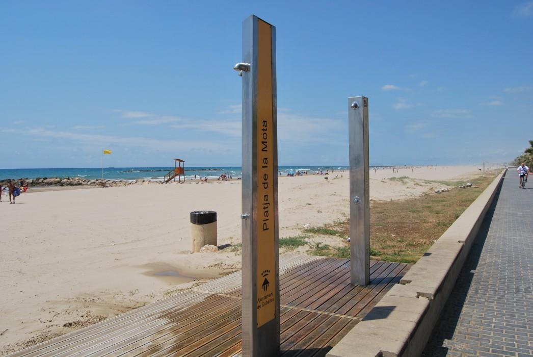 Resultado de imagen de platja Mota de Sant Pere Cubelles