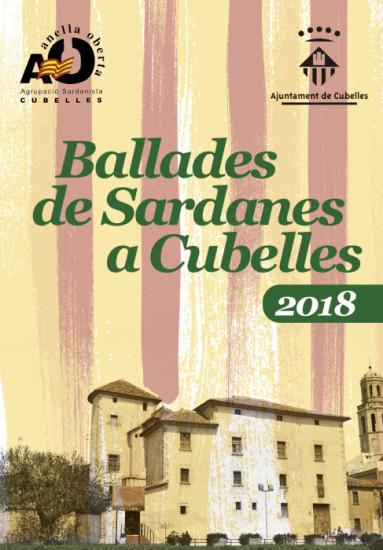 Portada ballada sardanes 2018