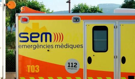 Resultat d'imatges de Ambulància 24 hores casa Travé cubelles
