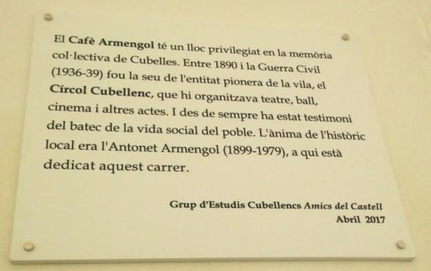 Placa commemorativa